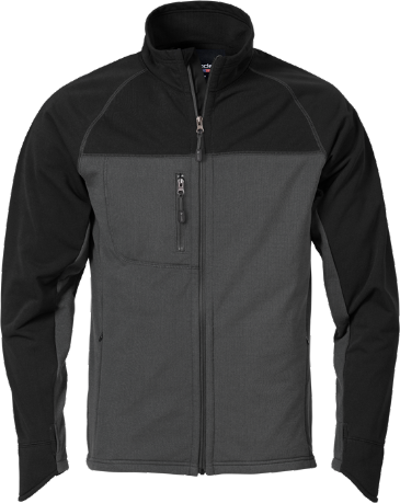Fristads Acode Men's Fleece Jacket 1475 MIC (Dark Grey)